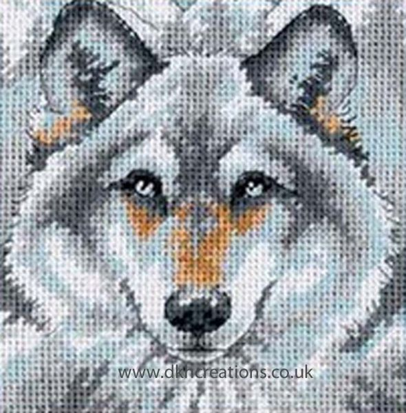 Call Of The Wolf Tapestry Kit